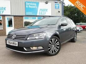 2014 Volkswagen PASSAT 2.0TDI ( 140ps ) BLUEMOTION Tech Executive DIESEL ESTATE
