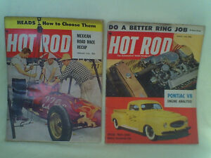 3 Vintage HOT ROD Magazines - Check out the pics..there are 3