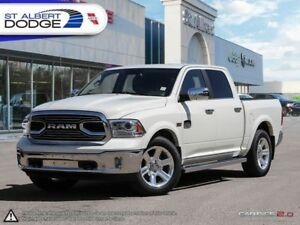 2017 Ram 1500 Longhorn  HEATED  COOLED LEATHER | PARK ASSIST | P