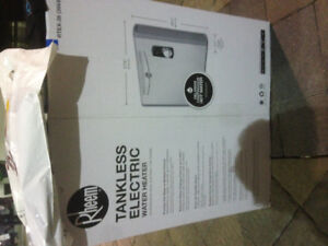 Rheem Tankless Electric Water Heater
