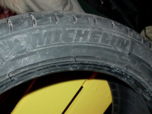 Michelin X-ice 245 R45 18, three winter tires