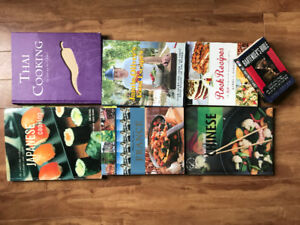 Various cookbooks - $5 each