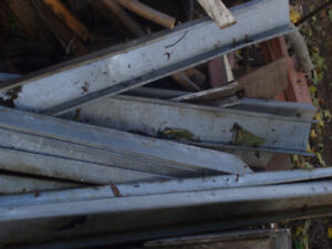 For Sale On 12 Galvanized Steel Studs- 3.5/8's X 102 inch.
