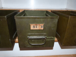 Vintage / Antique Military Containers