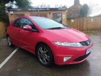 2010 HONDA CIVIC 2.2i-CTDi SI IN RED