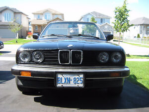 1987 Convertible BMW 325 iC