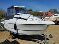 """Smart Fisher 46 Pilot Boat with Caddy - Name """"Moor Than Knot"""""""