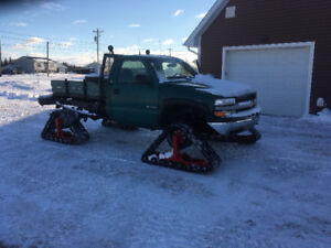 2000 Chev 2500 with Tracks