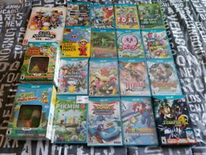 Jeux Nintendo wii u neuf sceller avec plastique