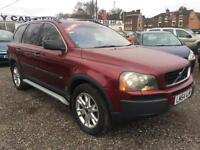 2004 VOLVO XC90 2.4 D5 SE 5dr 4 X 4 7 SEATER AUTO LEATHER