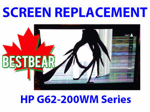 Screen Replacment for HP G62-200WM Series Laptop