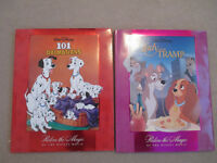 Disney *X-Lg* Hardcovers-101 Dalmations & Lady & the Tramp