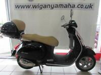 PIAGGIO VESPA GTS250, 57 REG ONLY 6046 MILES, TOP CASE AND TAN SEAT. 250cc...
