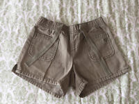 Gently used shorts, capri pants, and skirt for 10-18-year girls