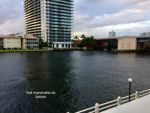 condo a vendre, BORD DE L'INTRACOSTAL,Hallandale beach