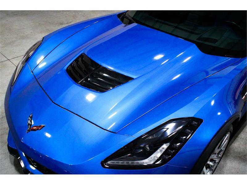 2016 Blue Chevrolet Corvette Z06 3LZ | C7 Corvette Photo 8