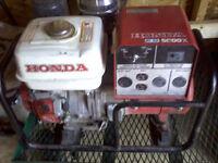 Honda Generator EG 5000X  GX 340cc