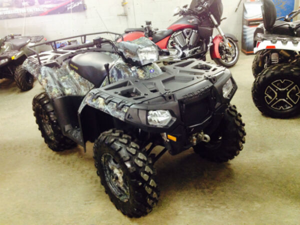 Used 2010 Polaris Sportsman Browning