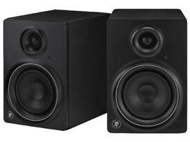 MACKIE MR5 MK2 Studio Monitors Speakers - 2x