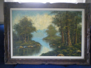 SCENIC OIL PAINTING Kawartha Lakes Peterborough Area image 4