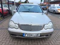 2004 Mercedes-Benz C180 Kompressor 1.8 Automatic Elegance 2 Owners Long Mot