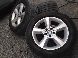BMW OEM Rims with Sensors and Runflat Tires!!