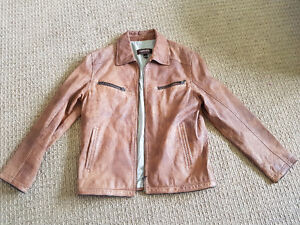 Men's Danier Real Leather Jacket – Brand new, worn once!