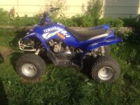 2004 Yamaha raptor 50 mini quad