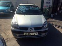 RENAULT CLIO 5 DOOR FULL MOT £795 !!!!