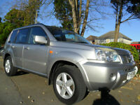 NISSAN X TRAIL 2.2 DCI 2005 SVE COMPLETE WITH M.O.T HPI CLEAR INC WARRANTY