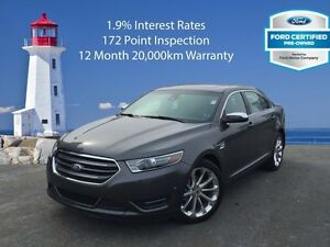 2016 Ford Taurus Limited   1.9% Interest Rates