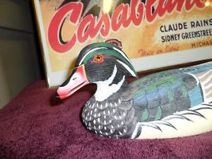Hand Carved Duck by Pacific Rim Carvers $40. Prince George British Columbia image 4