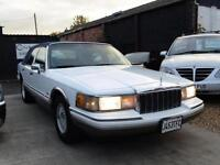 LINCOLN TOWN CAR Auto Petrol LPG GAS 1992 (J)