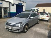 Vauxhall/Opel Astra 1.6 16v ( 115ps ) Sport Hatch 2008 sxi SPARES OR REPAIR