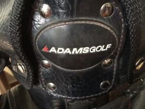 Adams Golf Leather Golf Bag Gatineau Ottawa / Gatineau Area image 4