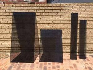 4 x DARK glass panels Highgate Perth City Area Preview