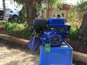 8 hp electric start  new