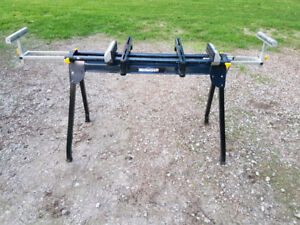 Mitre Saw Stand with roller arms, great shape