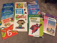 Key Stage 2 teaching books - various