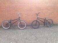 Bmx skate park bike