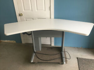 Sit-Stand,Height adjustable tables, used in excellent condit$499