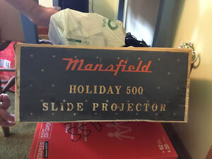 Holiday 500 Slide Projector by Mansfield