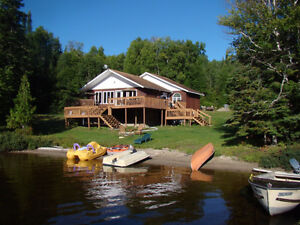Cottage for sale on Nagasin Lake near Chapleau, Ontario