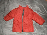 Red/ Grey Winter Coat
