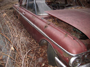 1962 Ford galaxie 4 dr parts car for sale