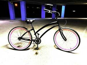 Beach Cruiser - Skull x Bones - 26 inch rims - Good Condition Southport Gold Coast City Preview