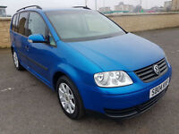 1 OWNER VOLKSWAGEN TOURAN 1.9 TDI, 7 SEATER