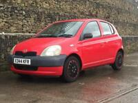 Toyota Yaris 1.0 16v VVTi 1999MY GS