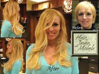 FLAT £99 Human Remy FUSION Hair Extensions & Full Head Fitting! INCLUDES HAIR! Before & After Pics!