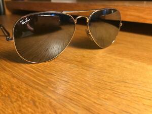 Classic Aviator Rayban Sunglasses